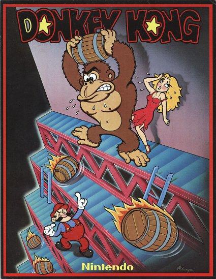 affiche de Donkey kong