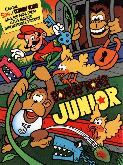 affiche de Donkeykong junior