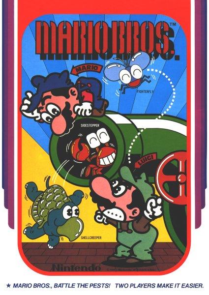 affiche de Mario bros