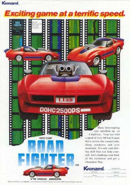 affiche de Road fighter