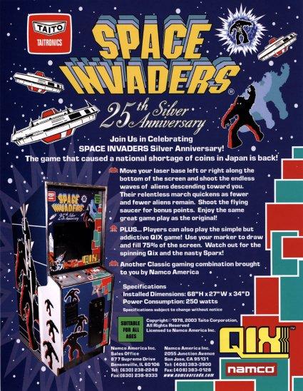 affiche de Space invaders